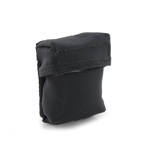 Black multipurpose pouch