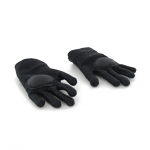 Black tactical gloves