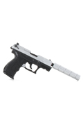 Walther P22 Pistol with Silencer (Black)