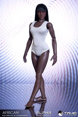 African Alpha Female Action Figure Body