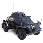 Sd.Kfz.222 Version Gris Panzer