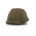 US M1 Helmet with MITCHELL camo cover and helmet band