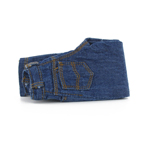 Jeans denim slim bleu