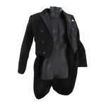 Tailcoat Jacket (Black)