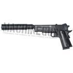 Colt 45 M1911 w/ silencer