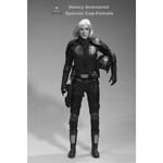 figurine Heavy Armoured Special Cop Female