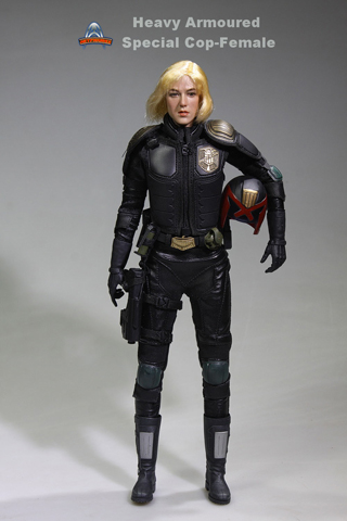 Heavy Armoured Special Cop Female