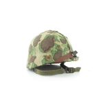 US Helmet w/USMC camo Duck hunter cover