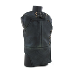 Leather Protection Vest (Black) (Damaged)