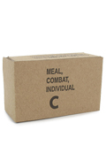 Vietnam War - Carton vide US Army C-Ration (Marron)