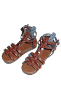 Shoes Series - Female Brown Strap Sandals