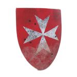 Bouclier Hospitaller (Rouge)