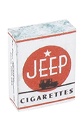 Jeep Cigarette Pack (White)