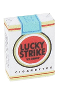 Lucky Strike Cigarette Pack
