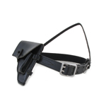 Sam Browne Belt with Holster (Black)