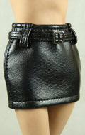 Female Leather Skirt (Black)