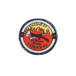 Patch des pompiers de New York El Barrios Bravest (Rouge)