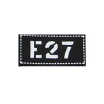 Team Patch E27 (Black)