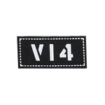Team Patch V14 (Black)