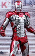 Iron Man 2 - Mark V Diecast