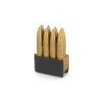 M1 plastic 7.62mm Rounds with shell case