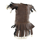 Subarmalis Leather Vest (Brown)