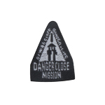 Patch Danger Close Mission (Black)