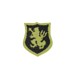 US Navy Seal Team LBT Lion Crusader Patch (Black)