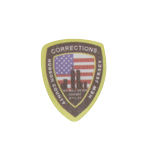Patch Corrections Hudson County New Jersey (Noir)