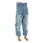 Jeans délavé (Bleu)
