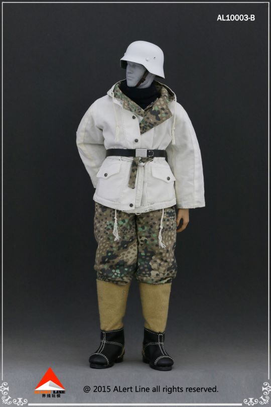 Set Wehrmacht and SS Winter (Petits pois)