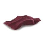 Mouchoir à motifs (Rouge)