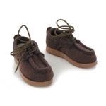Chaussures en daim (Marron)
