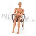 Chuck Morris nude body