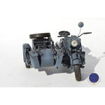 German BMW R75 with Side Car (Gris)