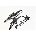 Set QSZ92 Handgun, QCW05 Sub-machine Gun and QBU88 Sniper Rifle