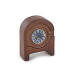 Die Cast Clock (Brown)