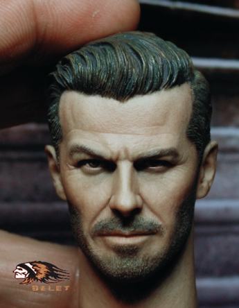 Headsculpt David Beckham
