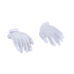 Flexible Gloved Hands (White)