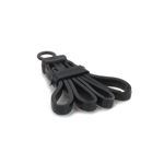 Trifold Disposable Restraints Handcuffs (Black)