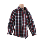 Kid Plaid Shirt (Red)