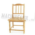 Chaise (Bois naturel)
