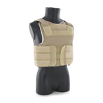 Low visibility body armor vest (LBAV)