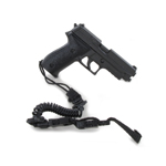 MK24 MOD0 Pistol with Tactical Pistol Lanyard (Black)