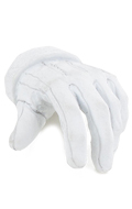 Gloved Left Hand Type A (White)
