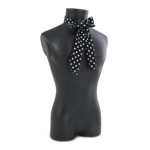 Dotted Butterfly Knot (Black)