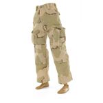 BDU desert camo three colors pants