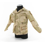 BDU desert camo three colors jacket