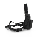 Dropdown black holster
