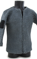 Chain Mail Hauberk (Grey)